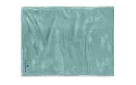 Tom Tailor Corall Fleece in türkis, 150 x 200 cm