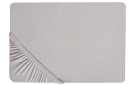 Boxspring-Spannbetttuch in schlamm, 140 x 200 cm