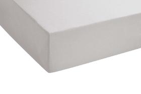 Spannbetttuch in schlamm, 140 x 200 x 25 cm