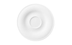 Kombi-Untertasse klein Beat in weiß, 13,5 cm