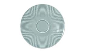Kombi-Untertasse Beat in arktisblau, 16,5 cm