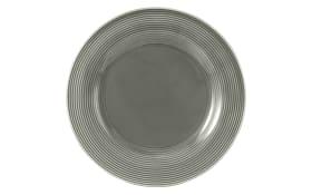Speiseteller rund Beat in perlgrau, 27,5 cm