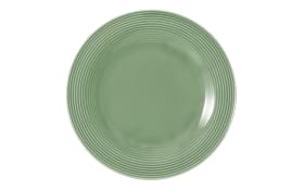 Frühstücksteller rund Beat in salbeigrün, 23 cm