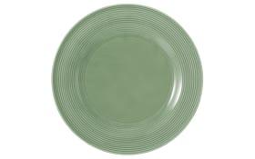 Speiseteller rund Beat in salbeigrün, 27,5cm