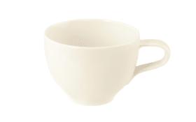 Kaffeetasse Medina fine diamond in cremeweiß, 260 ml
