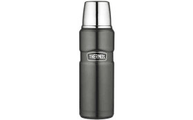 Isolierflasche Stainless King in grey, 0,47 l