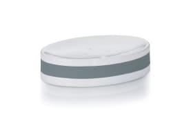 Seifenschale Laletta in weiß/grau