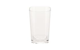 Becher Kristall in transparent, 12 cm