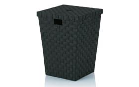 Wäschekorb Alvaro in schwarz