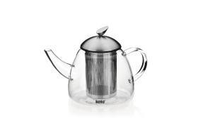 Teekanne Aurora aus Glas, 1,3 Liter
