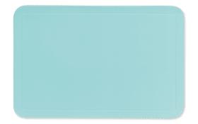 Tischset Uni in pastellblau, 28.5 x 43.5 cm