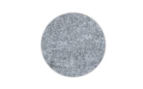 Glas-Untersetzer Alia in grau 4 teilig, 10 cm