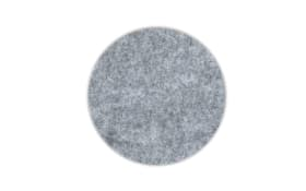Glas-Untersetzer Alia in grau, 10 cm