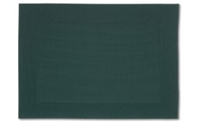 Tischset Nicoletta in dunkelgrün, 33 x 46 cm