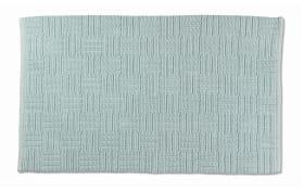 Badematte Leana in polarblau, 50 x 80 cm