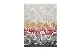 Plaid/Decke Basic Soft Arabeske in rot, 150 x 200 cm