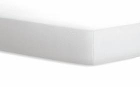 Spannbetttuch Jersey in weiß, 100 x 200 cm