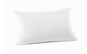 Kissenbezug Mako Jersey in weiß, 40 x 60 cm