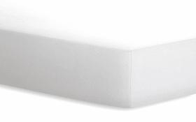 Spannbetttuch Basic in weiß, 160 x 200 cm