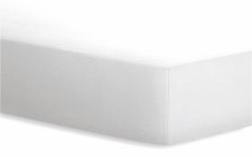 Spannbetttuch BASIC in weiß, 180 x 200 cm
