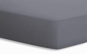 Spannbetttuch BASIC in graphit, 180 x 200 x 20 cm