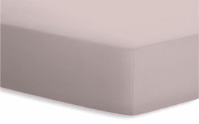 Spannbetttuch Jersey-Elasthan in kiesel, 120 x 200 x 25 cm