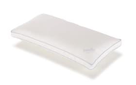 Kissen Softy Contour in weiß, 40 x 80 cm