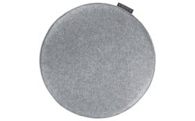 Sitzkissen Avaro in grau, 35 cm