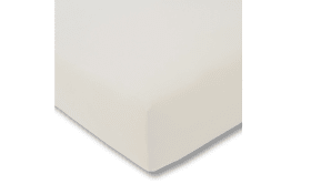 Spannbettlaken Fein Jersey in elfenbein, 100 x 200 cm