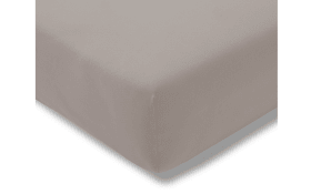 Spannbettlaken Fein Jersey in kiesel, 150 x 200 cm