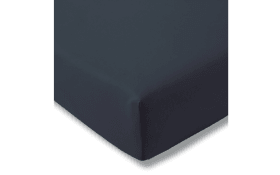 Spannbettlaken Fein Jersey in indigo, 200 x 200 cm
