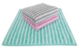 Handtuch in rosa, 50 x 100 cm
