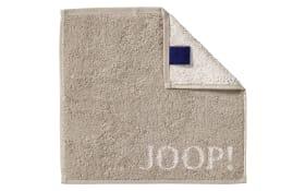 Seifenlappen Joop! Classic Doubleface in sand, 30 x 30 cm
