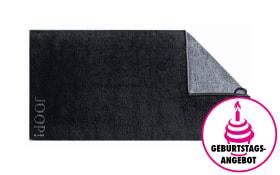 Handtuch Joop! Classic Doubleface in schwarz, 50 x 100 cm