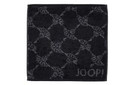 Seifenlappen Joop! Classic Cornflower in schwarz, 30 x 30 cm