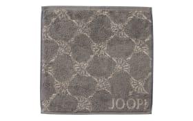 Seifenlappen Joop! Classic Cornflower in graphit, 30 x 30 cm