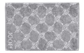 Gästetuch Classic Cornflower in silber, 30 x 50 cm