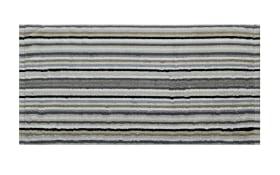 Gästetuch Lifestyle Streifen in kiesel, 30 x 50 cm