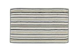 Duschvorleger Lifestyle Streifen in kiesel, 50 x 80 cm