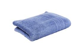 Duschtuch in blau, 70 x 140 cm