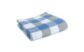 Handtuch in blau, 50 x 100 cm