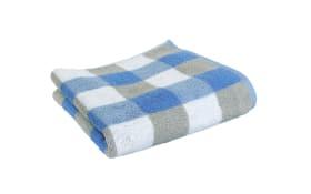 Duschtuch in blau, 70x140 cm