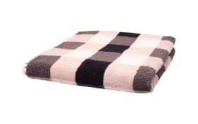 Handtuch Karo in schwarz/weiss/grau, 50 x 100 cm