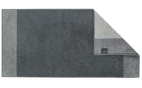 Gästetuch Two-Tone in schiefer, 30 x 50 cm