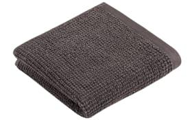 Handtuch Natureline in graphit, 50 x 100 cm