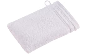 Waschhandschuh Calypso Feeling in weiß, 16 x 22 cm
