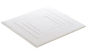 Badteppich Vossen Feeling in weiß, 60 x 60 cm