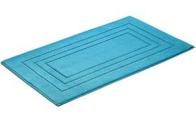 Badteppich Vossen Feeling in turquoise, 60 x 100 cm