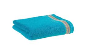 Handtuch Gleamy-B in crystal blue, 50 x 100 cm
