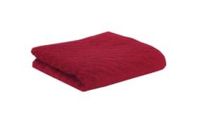 Handtuch Snuggy-B in rubin, 50 x 100 cm